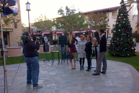 "Showcasing ""Hot Holiday Styles"" With San Diego 6 at Otay Ranch Town Center"